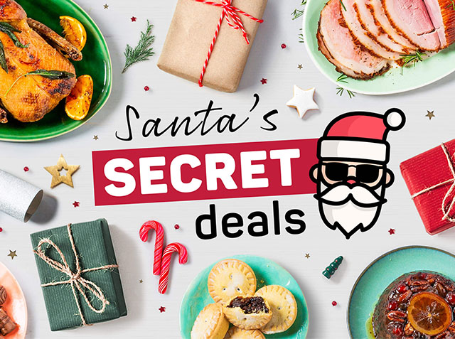 Santa's Secret Deals at PNP