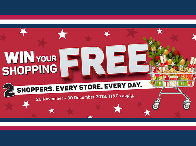 Win your shopping free with PNP