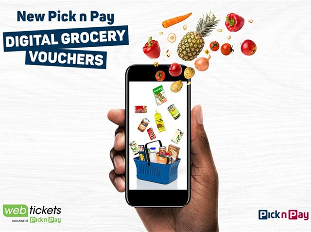 Pick n Pay Gift Cards Go Digital
