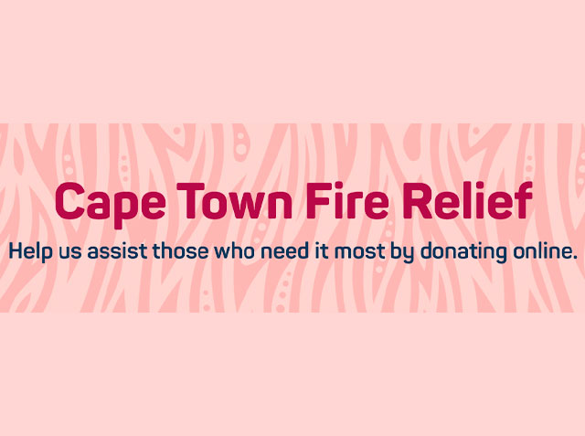 Cape Town Fire Relief